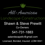 All-American Landscape Construction LLC