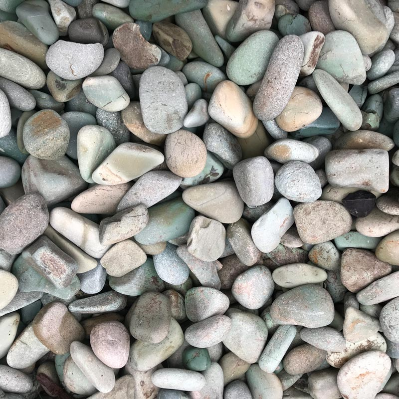 Green Indonesian Pebbles
