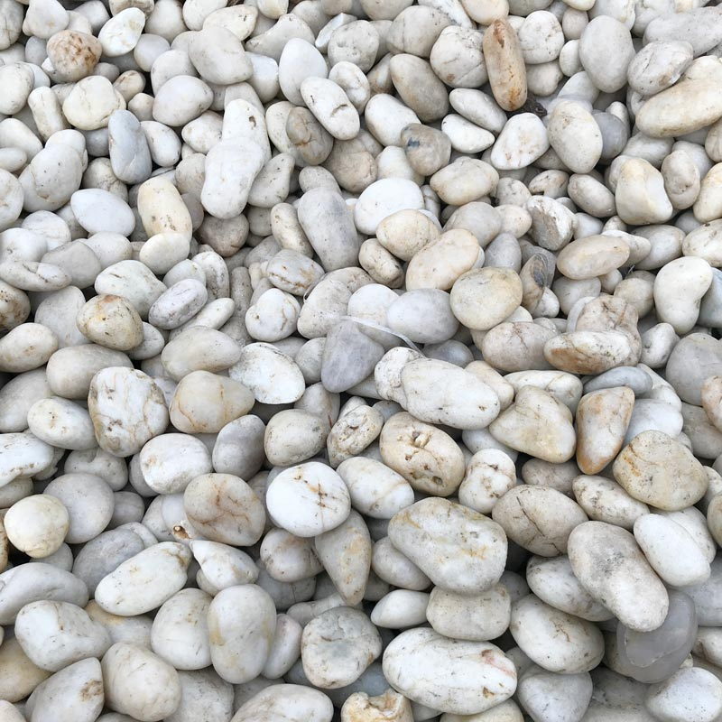 White Indonesian Pebbles