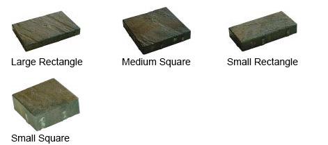 La Pietra Stone Sizes