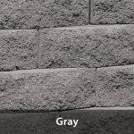 Nursery Wall Stone Gray