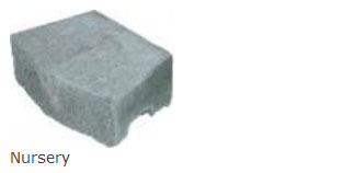 Nursery Wall Stone Dimensions