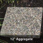 "Stepping Stone - Aggregate 12"" Square"