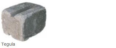 Tegula Wall Stone Dimensions